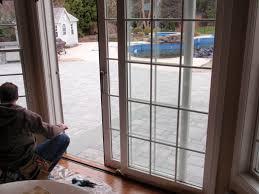 replacing sliding glass door in mobile home
