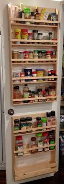 Spice Rack Ideas Top 25 Best Door Spice Rack Ideas On Pinterest Kitchen Spice