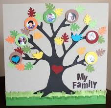 How To Make A Genealogical Tree Heres An Adorable Family Tree Craft Project Perfect For