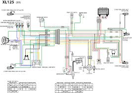 wiring diagram honda xl 125 wiring wiring diagrams online