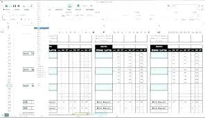 Simple P L Excel Template Income Statement Template Simple Pl Template Simple Pl