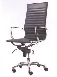high office chair. High Back Ripple Black Office Chair 1