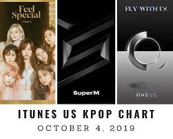 Kpop Chart 2019 Itunes Us Itunes Kpop Chart October 4th 2019 2019 10 04