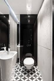 Kitchen Bath And Floors Geometric Floor Tiles For Small Black And White Bathroom Black