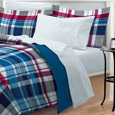 Quilt Shops Calgary Quilts For Beds Uk Boys Plaid Quilt Quilting ... & ... Portland Plaid Quilt Sham Pb Modern Plaid Red Blue Striped Teen Boy  Bedding Twin Xl Bed In A Bag Dorm Bed ... Adamdwight.com