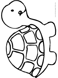 pages to color for kids. Plain For Turtle Coloring Pages Color Plate Sheetprintable  Picture On Pages To Color For Kids O