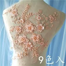 Aliexpress.com : Buy 1pcs 33*29cm <b>Color</b> 3D Beading Lace ...