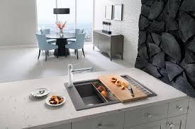Sink With Cutting Board Robinson Lighting Bath Centre Perfect Blanco Kitchen Sink For