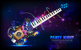cool music background designs. Brilliant Designs Party Night Flyer Background Vector Inside Cool Music Background Designs M