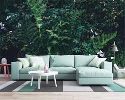 Us 945 37 Offbeibehang High Quality 3d Wallpaper Fantasy Green Rain Forest Jungle Living Room Tv Sofa Background Wall 3d Wallpaper Behang In