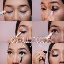 ke pesta siang hari simple makeup with tutorials romantic eye wardah tutorial tutorial makeup natural wardah makeup daily