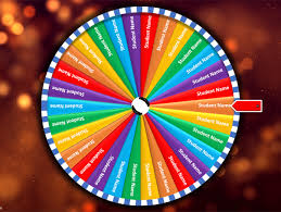 Random Spinning Name Selector Wheel Of Fortune