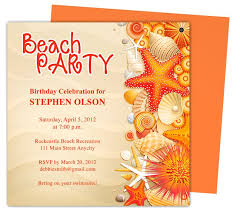 Open Office Greeting Card Templates Shore Birthday Party Invitation Templates Use With Word