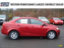 2012 Crystal Red Tintcoat Chevrolet Sonic LT Sedan #57001213 ...