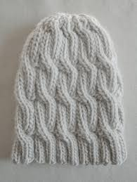 Easy Knit Hat Pattern Free Amazing Knitting Patterns Galore Chunky Cable Hat