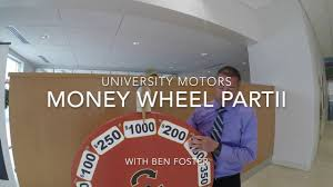 university toyota money wheel part 2