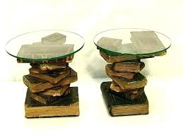 book coffee table furniture. Side Tables: Stacked Books Table Book Coffee For Your Living Space Furniture