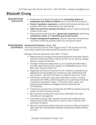 Quality Manager Resume Samples .