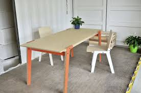 Easy Diy Dining Table Modest Decoration Plywood Dining Table Extremely Creative The Easy