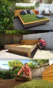 bed of grass outdoor billet