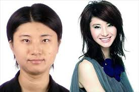 more pictures of asian s before and after makeup