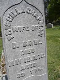 Priscilla Chapman Sayre (Unknown-1876) - Find A Grave Memorial
