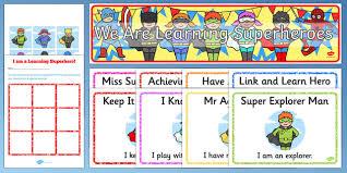 Characteristics Of A Superhero Ready Made Superhero Themed Characteristics Effective Learn Pack
