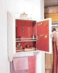 Diy Jewelry Cabinet How To Make Jewelry Closet Closet Organizers