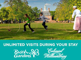 busch gardens tickets va. Busch Gardens Williamsburg And Colonial Spring Bounce Ticket Tickets Va