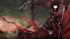 Anime Warrior Girl Wallpapers on ...