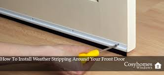 front door weatherstrippingHow To Install Weather Stripping Around Your Front Door