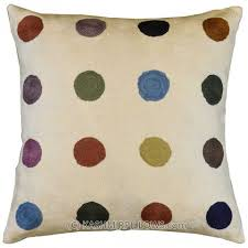 polka dot pillows amazoncom pillow perfect decorative redwhite