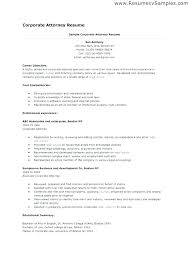 Contract Attorney Resume Sample Yuriewalter Me