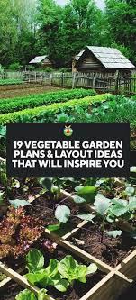 vegetable garden designs layouts