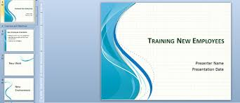power points template training new employees powerpoint template