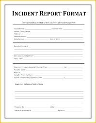 Security Guard Daily Activity Report Template Free Warehouse
