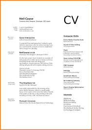 Resume Computer Skills Pc To Put On Intended For Cv Writing Literacy