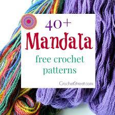 Free Crochet Mandala Pattern New 48 Stunning Free Mandala Crochet Patterns