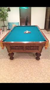 Best Tiffany Pool Table for sale - Selling professional handmade pool table (like the pros Brunswick Gold Crown III Sale. Sold | Used