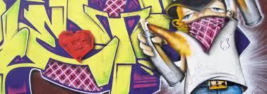 graffiti canvas prints grunge wall