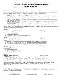 Resume Bullet Points Stunning 2924 24 Inspirational Resume Bullet Points Examples