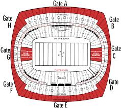 Arrowhead Stadium Seating Huskermax