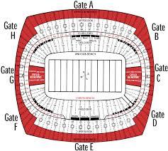 Arrowhead Stadium Seating Huskermax
