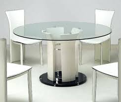 modern cylinder dining table base inch round glass top dining 60 inch round glass top dining