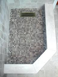 mosaic shower floor tile. Mosaic Shower Floor Tile The Home Depot Modern Prepare White . D