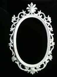 gothic clipart oval filigree frame pencil and in color