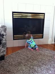 Baby Proofing BABY PROOF BRICK FIREPLACE HEARTHBaby Proof Fireplace