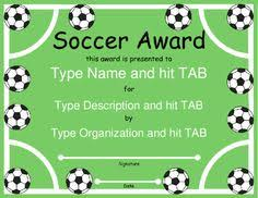 soccer awards templates football certificate template soccer awards football certificate