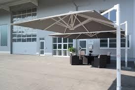 patio umbrellas cantilever.  Cantilever Company Uhlmann Large Cantilever Umbrella On Patio Umbrellas Cantilever M