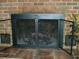 beveled glass fireplace screen image of fireplace screens with doors image victorian beveled glass fireplace screen